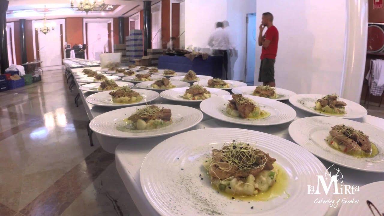 Montaje de platos para eventos youtube for Decoracion de platos gourmet pdf