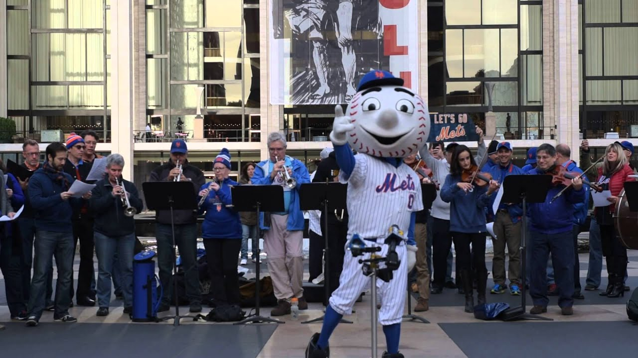 """Meet the Mets"" with Mr. Met"