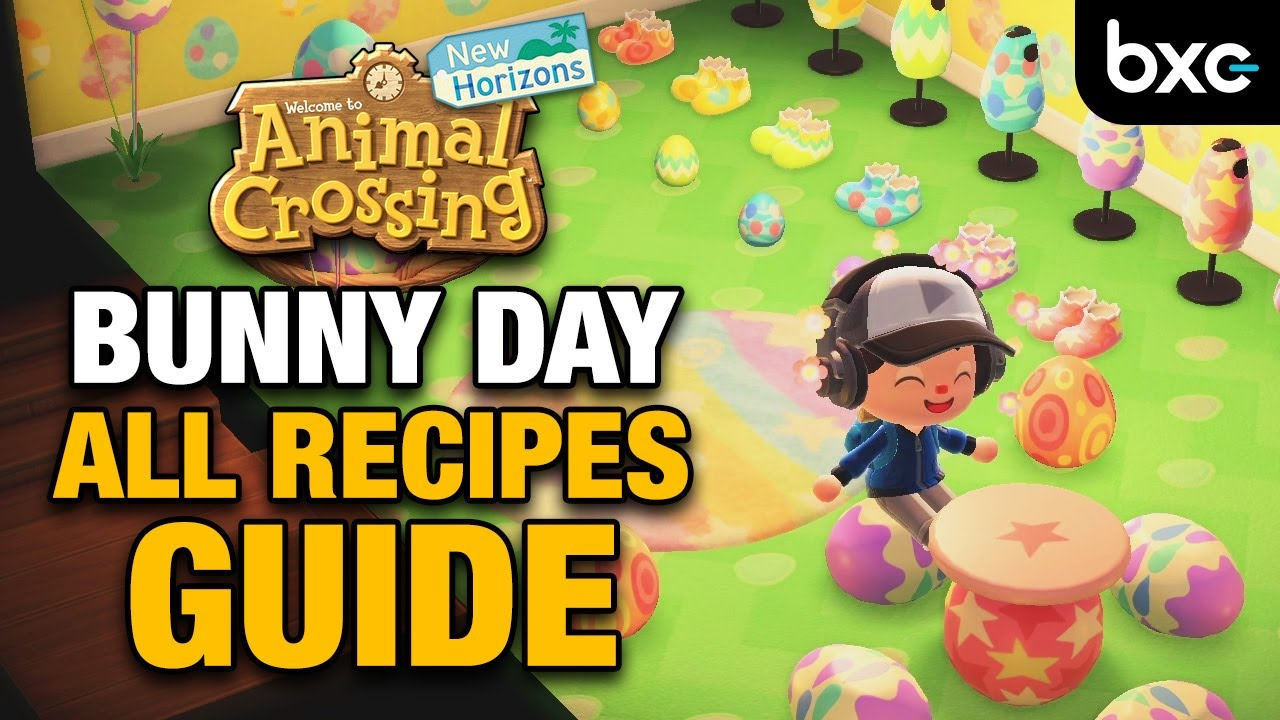 All Bunny Day DIY Recipes: How To Get Them Before The Event ...