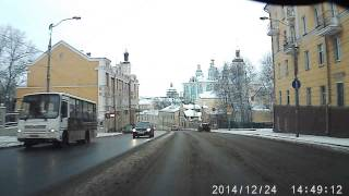 улица Большая Советская в Смоленске(, 2015-02-26T12:02:14.000Z)