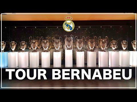 """""""TOUR BERNABEU"""" Visita al Estadio Santiago Bernabeu! en español/français"""