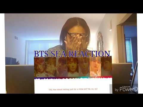 BTS- Sea(LOVE YOURSELF:HER Hidden song) Reaction. EMOTIONAL 😢