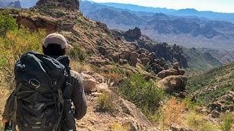 Hiking the Peralta Trail (Gold Canyon, AZ)