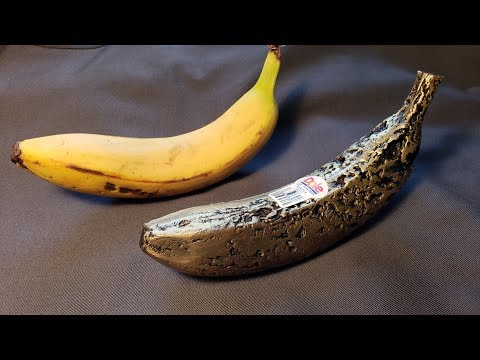 Casting a Spotty Brass Banana - Screwing up, Owning it, and Calling it Art