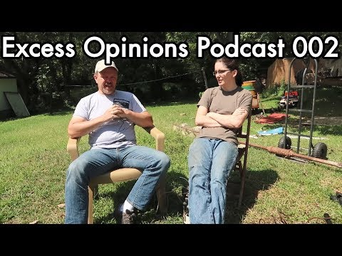 Excess Opinions 002: Andrew Jones the ArtisticBrit, backyard chat