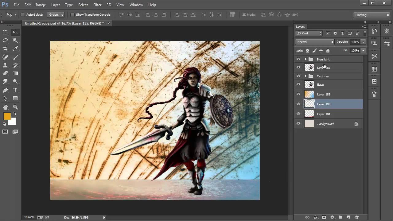 fundamentals of digital painting 16 background youtube