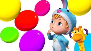 Learn Colors with Gems | Preschool Learning | Infobells