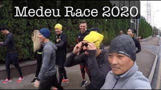 Минута видео впечатлений от Medeu Race 2020. Непростой забег в горы