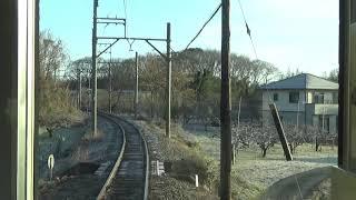 【前面展望】養老鉄道 養老線 駒野→大垣 2018年1月15日