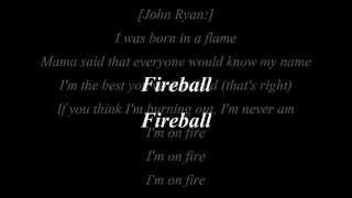 Pitbull Fireball ft John Ryan Lyrics mp3 Download