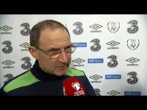 Serbia v Republic of Ireland - Post Match Interview - Martin O'Neill (5/9/16)