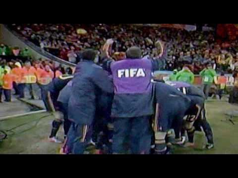 Gol de la victoria de España 1-0 Contra Holanda Mundial FIFA Sudafrica 2010