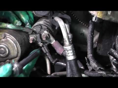 Buick LeSabre, Starter Motor Replacement
