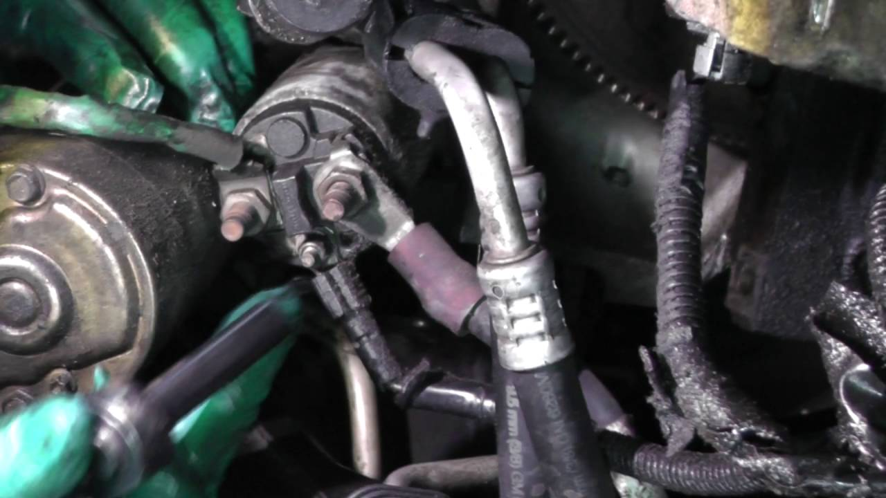 Buick LeSabre, Starter Motor Replacement  YouTube