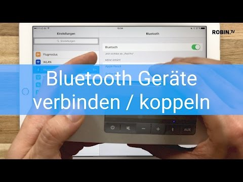 Bluetooth Geräte verbinden / koppeln - iPad Tutorial Deutsch #ElekTricks - Robin.tv