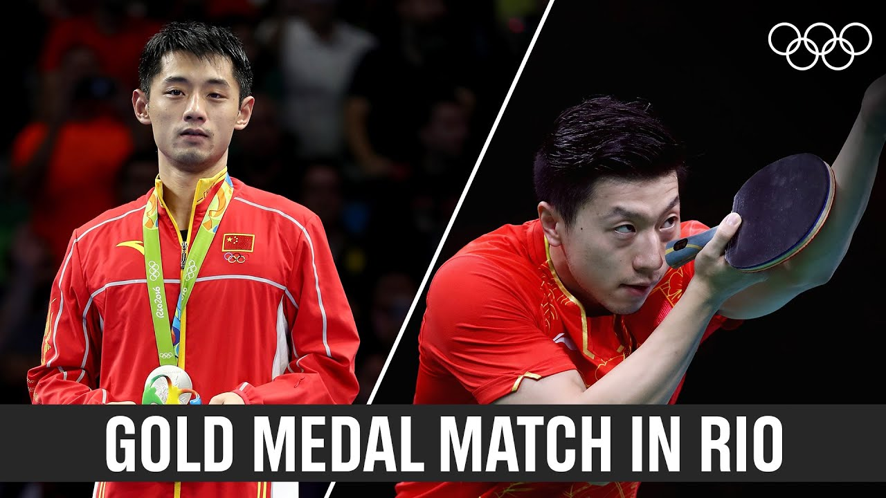 Download Ma Long 🇨🇳wins table tennis gold in Rio!
