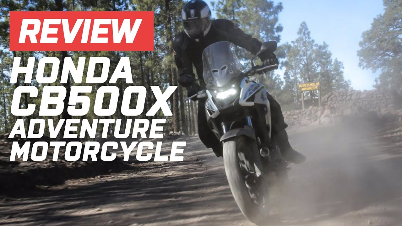 Honda CB500X Adventure Motorcycle Review (2020) | Visordown.com