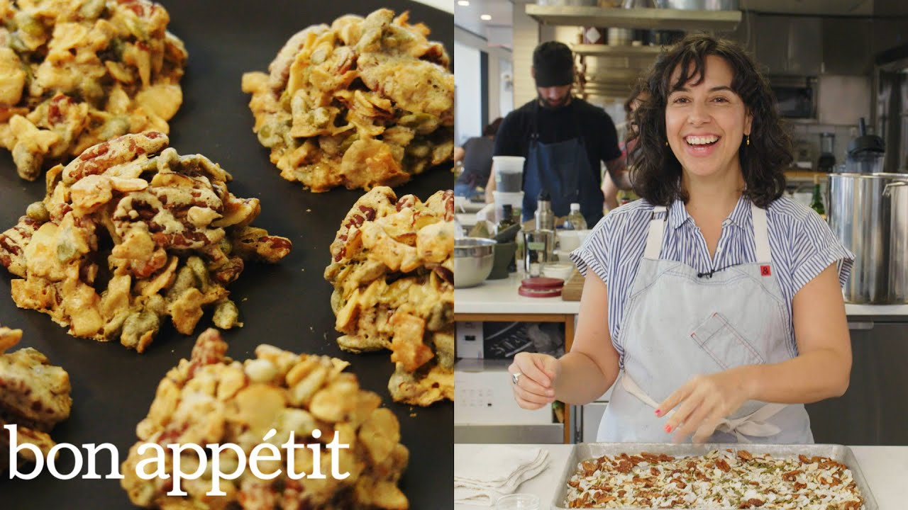 Carla Makes Granola Cluster Cookies | From the Test Kitchen | Bon Appétit