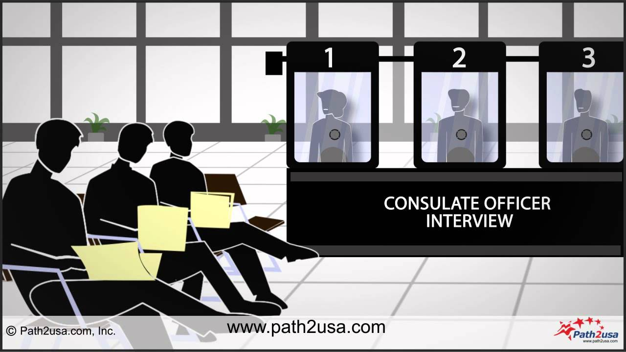 US Visa Interview Process - YouTube