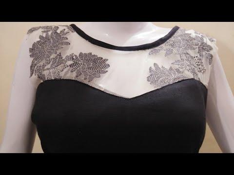 transi neck design with boat neck