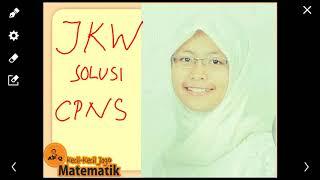 Pembahasan CPNS 2018 Trik Jokowi Sukses Jarak Kecepatan Waktu