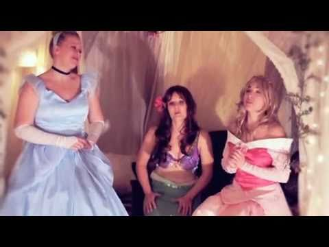Princess Christmas   Ariel, Sleeping Beauty and Cinderella sing Christmas Carols