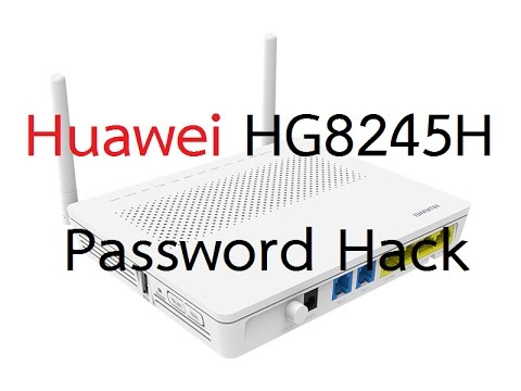 how to change router password huawei