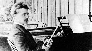 "Jean Sibelius conducts ""Andante Festivo"" for String Orchestra 