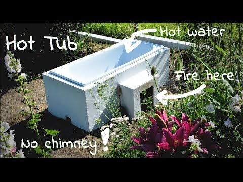 DIY Hot tub - wood fired, cheap  (+20 points for relax in the garden)