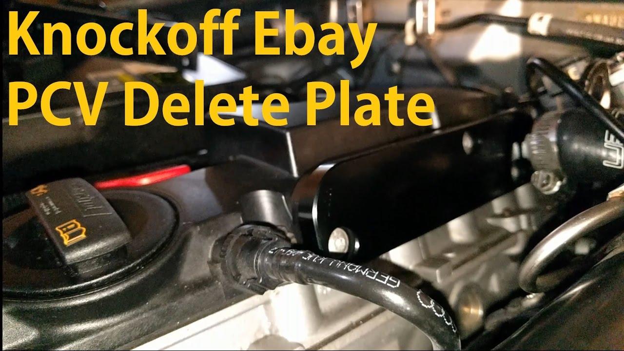 20t Fsi Ebay Pcv Delete Audi B7 Youtube