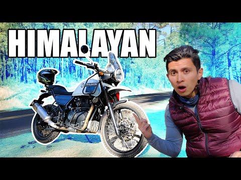 Royal Enfield Himalayan Review || Verdadera doble propósito para NOVATOS