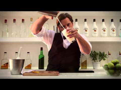 How To Make A MALIBU Rum Pina Colada