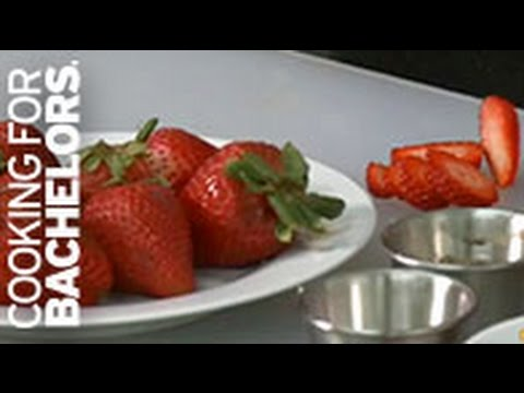 Strawberry Tomato Arugula Salad by Cooking for Bachelors® TV