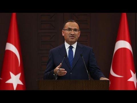 Başbakan Yardımcısı Bozdağ, Bakanlar Kurulu sonrasında açıklamalarda bulunuyor