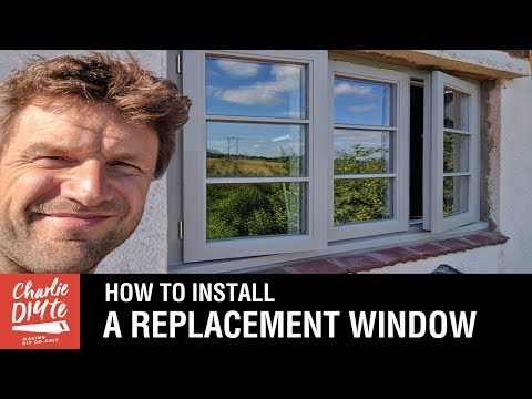 How to Install a Replacement Window in an Old House