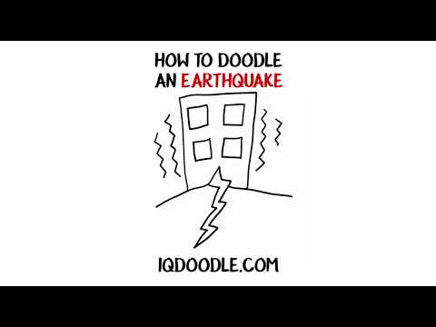 How to Draw an Earthquake (drawing tips)