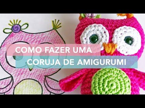 How to crochet a flat oval shape | Advanced Amigurumi #4 - YouTube | 360x480