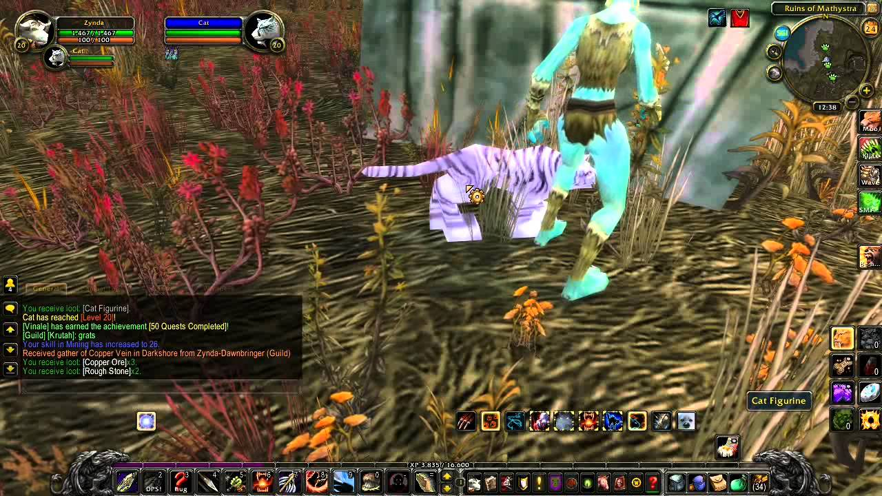 Joe's WoW Tutorials: Ghostly Pet for Level 20 hunters, the Ghost Saber