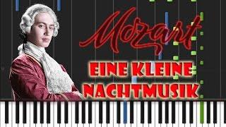 Wolfgang Amadeus Mozart - Eine Kleine Nachtmusik: Allegro EASY Piano Cover