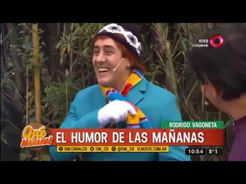 El humor de las mañanas: los chistes de Rodrigo Vagoneta
