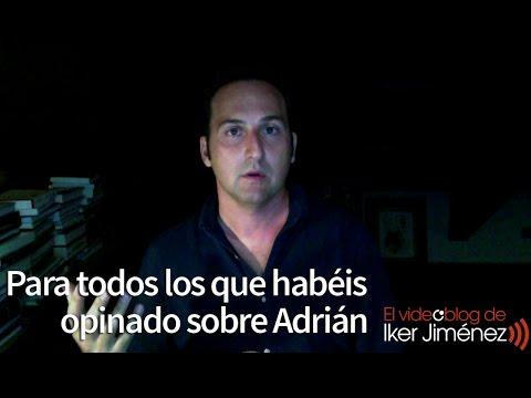 Para todos los que habéis opinado sobre Adrián