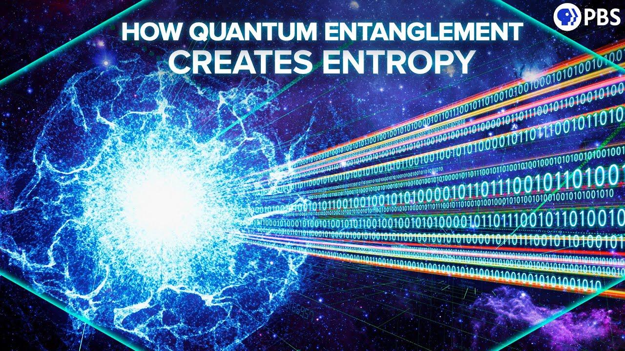 How Quantum Entanglement Creates Entropy
