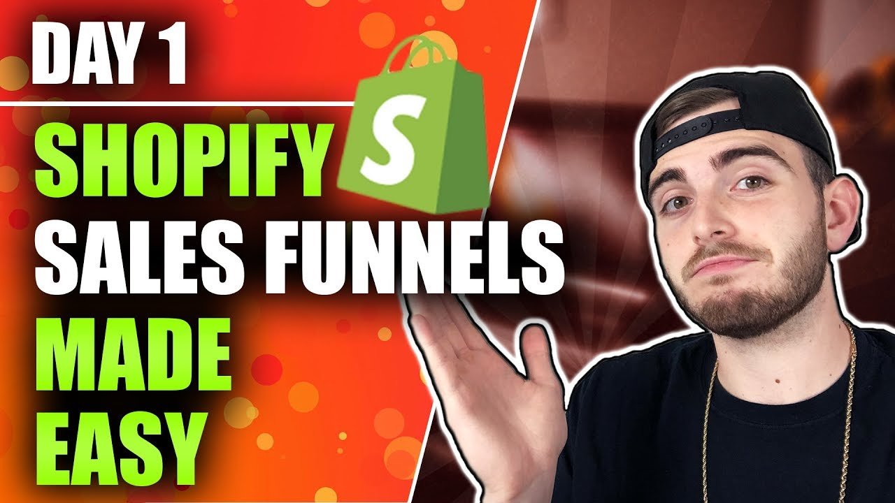 Shopify Dropshipping Sales Funnels Made Easy - More eCommerce Profit!