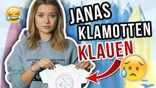 ICH TRAGE EINE WOCHE NUR JANAS KLAMOTTEN (also eig 4 Tage lul)