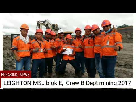 LEIGHTON MSJ Crew B Dept mining