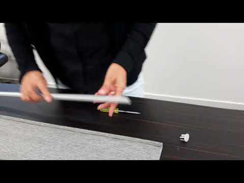 How to Replace Roller Blind Bottom Rail