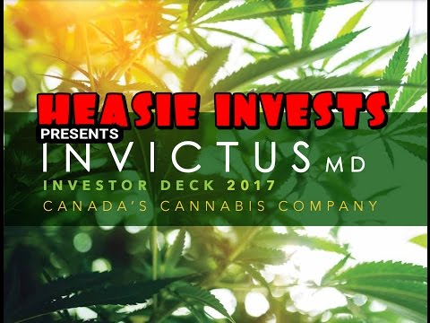 Invictus MD - A Canadian cannabis company