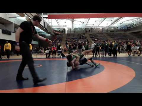 2016 Dino Invitational: 72 kg Miles Kent vs. Kyle Horvath
