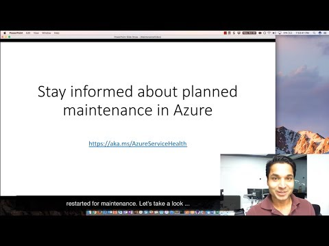 Azure Service Health - Planned Maintenance