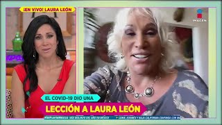 ¡Laura León sacará canción sobre cómo cuidar 'El Tesorito'! | De Primera Mano